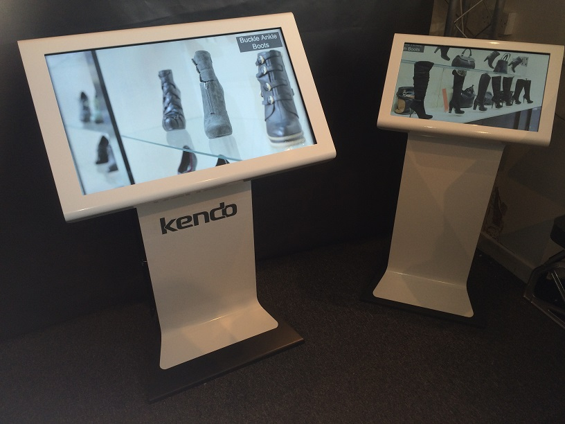 Kendo Kiosk – Widescreen Large Format Touchscreen