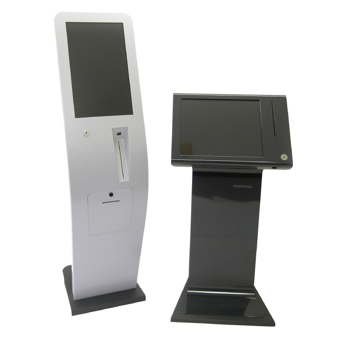 Eidos and Figure Kiosks With Bar Code Scanner,  Mag Card Reader & Printer