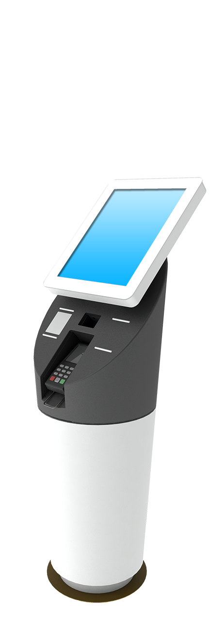 Custom touchscreen kiosks
